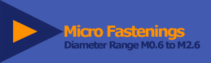 Micro Fastenings Logo and link back to the home page
